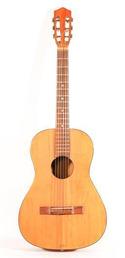 Sale 9136 - Lot 56 - A vintage Hofner acoustic guitar