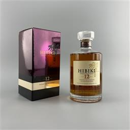 Sale 9142W - Lot 1010 - Hibiki 12YO Blended Japanese Whisky - 43% ABV, 700ml in box