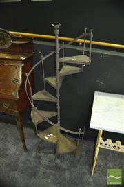 Sale 8337 - Lot 1003 - Miniature Spiral Staircase