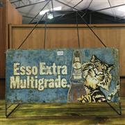 Sale 8643 - Lot 1026 - Vintage Esso Oil Jar Stand