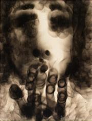 Sale 8787A - Lot 5013 - David Boyd (1924 - 2011) - Face & Hands, Kiss I 1968 30 x 23.5cm