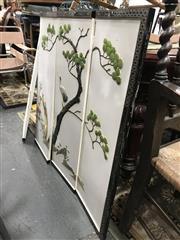 Sale 8822 - Lot 1523 - Oriental 4 Panel Screen