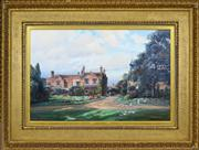 Sale 8363 - Lot 563 - Frederick William N. Whitehead (1853 - 1938) - Wasperton Refactory, Warwick (1907) 55.5 x 76cm