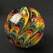Sale 8402D - Lot 76 - Murano Castellani Swirl Paperweight (Height - 8cm)
