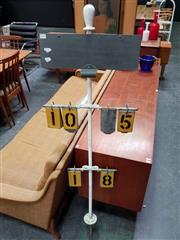 Sale 8476 - Lot 1030 - Vintage Lawn Bowls Scorer