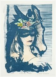 Sale 8592A - Lot 5015 - Charles Blackman (1928 - ) - Midsummer Masque 40 x 28cm