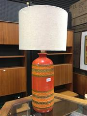 Sale 8643 - Lot 1045 - Bitossi Mid Century Ceramic Table Lamp, mark to base