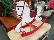 Sale 8676 - Lot 1298 - Timber Rocking Horse