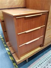 Sale 8741 - Lot 1061 - Pair of Austin Suite Teak Bedside Lockers/Chests