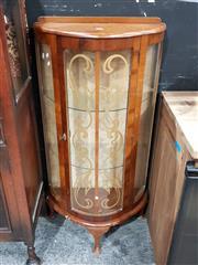 Sale 8740 - Lot 1005 - Small Art Deco Display Cabinet