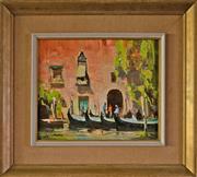 Sale 8810A - Lot 5034 - John Loxton (1903 - 1969) - Venice, 1967 25 x 30cm