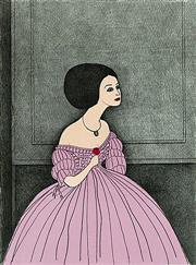 Sale 8939A - Lot 5015 - John Brack (1905 - 1986) - La Traviata 1981 66 x 49.5 cm