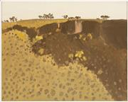 Sale 9023H - Lot 12 - NERIDAH STOCKLEY, A Ross River Gulley 2009, Oil on board 40 x 50cm details verso Provenance Damien Minton Gallery 2009. Cat no.33 Fr...
