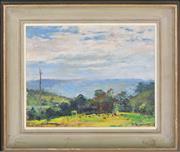 Sale 8339A - Lot 508 - Jack Salvana (1873 - 1956) - After the Rain, Yarramalong 19.5 x 24.5cm