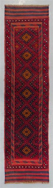 Sale 8499C - Lot 7 - Persian Sumak 250cm x 54cm