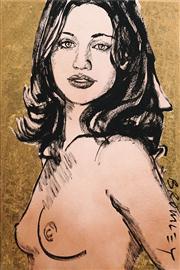 Sale 8583 - Lot 556 - David Bromley (1960 - ) - Gillian 90 x 60cm