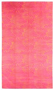 Sale 8563A - Lot 2 - The Florence Broadhurst Collection Design; Fingers Made in; Nepal Colour; Pink/Orange Made from; Tibetan Wool Size; 366 x...