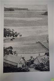 Sale 8578T - Lot 2025 - David Preston (1948 - ) - Balmoral 50.5 x 33.5cm (image); 75 x 53cm (sheet size)