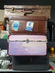 Sale 8582 - Lot 2494 - 4 Suitcases