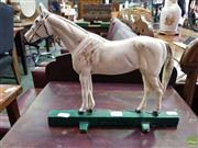 Sale 8601 - Lot 1173 - Painted Iron Horse Door Stop