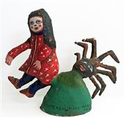 Sale 8939A - Lot 5016 - Mirka Mora (1928 - 2018) - Little Miss Muffett 1974 h. 22cm