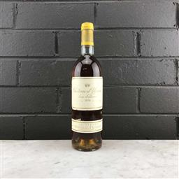 Sale 9089 - Lot 567 - 1976 Chateau dYquem, 1er Cru Superieur, Sauternes