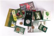 Sale 9035M - Lot 816 - Collection of Cricket themed Royal Australian Mint coins incl. 1oz  fine silver 1882-2007 Ashes $5 coin