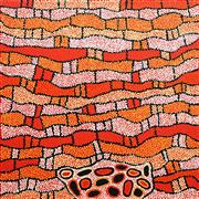 Sale 8549 - Lot 564 - Nelli Nakamarra (c1976 - ) - Womens Ceremony, 2008 100 x 100cm (stretched & ready to hang)