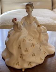 Sale 8510A - Lot 51 - A Royal Doulton figure My Love HN2339, H 18cm