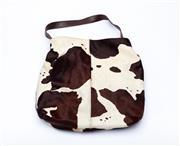 Sale 8760F - Lot 16 - An Owen Barry cow-hide leather tote, H 40 x W 42cm