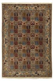 Sale 8790C - Lot 36 - A Persian Mood From Khorasan Region Very Fine 100% Wool And Silk Inlaid Pile, 300 x 205cm