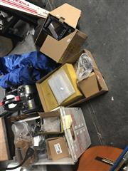 Sale 8789 - Lot 2230 - 3 Boxes of Sundries incl Radio Valves, etc