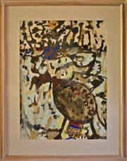 Sale 8810A - Lot 5011 - John Olsen (1928 - ) - Searching Around, 1969  75 x 56cm