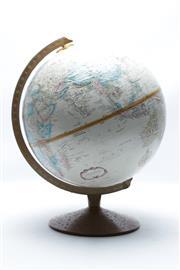 Sale 8864O - Lot 605 - A World Globe on Stand