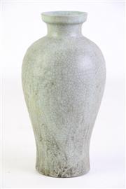 Sale 8894 - Lot 323 - Ru Style glazed Baluster Shaped Vase H:18cm