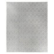Sale 8915C - Lot 31 - Indian Linen Geo Hex Flatweave Carpet, 300x245cm, Handspun Linen