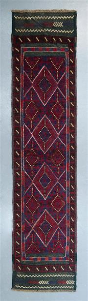 Sale 8499C - Lot 8 - Persian Sumak 256cm x 60cm