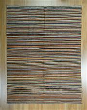 Sale 8625C - Lot 90 - Afghan Chobi Stripi 197cm x 150cm