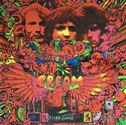Sale 8939A - Lot 5018 - Martin Sharp (1942 - 2013) - Record Cover (Cream: Disreali Gears) 108 x 108 cm