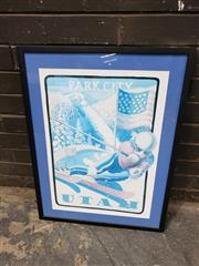 Sale 8964 - Lot 2086 - Patricia Smith Park City, Utah (Winter Olympics 2002) decorative print, 72 x 55 cm(frame)