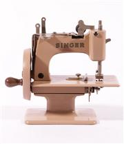 Sale 9010D - Lot 741 - A Childrens Singer Sewing Machine and Accessories