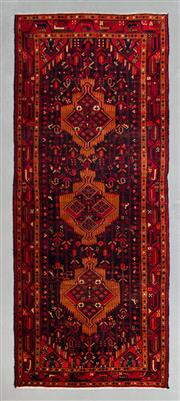 Sale 8499C - Lot 9 - Persian Hamadan 290cm x 115cm