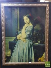 Sale 8552 - Lot 2026 - Artist Unknown - Painting of a Lady