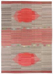 Sale 8626A - Lot 209 - A Cadrys Iranian Contemporary Flatweave Handspun Wool Carpet, Size; 356x254cm, RRP; $7990