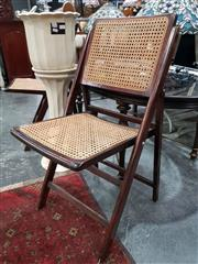 Sale 8676 - Lot 1029 - Pair of Folding Chairs