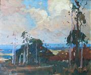 Sale 8787A - Lot 5018 - Sydney Long (1871 - 1955) - Narrabeen 29 x 35.5cm
