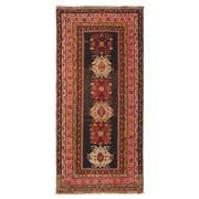 Sale 9019C - Lot 23 - Vintage Caucasian Karabagh Rug, Circa 1950, 130x280cm, Handspun Wool