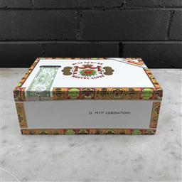 Sale 9089W - Lot 70 - Punch Petit Cononations Cuban Cigars - box of 25, stamped June 2016