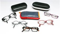 Sale 9153 - Lot 49 - A collection of designer prescription glasses, plus a few cases
