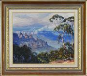 Sale 8323A - Lot 3 - John Emmett (1927 - ) - Three Sisters, 1982 37 x 34.5cm
